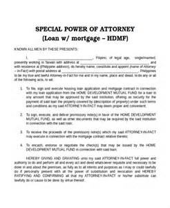 11 power of attorney templates free sle exle