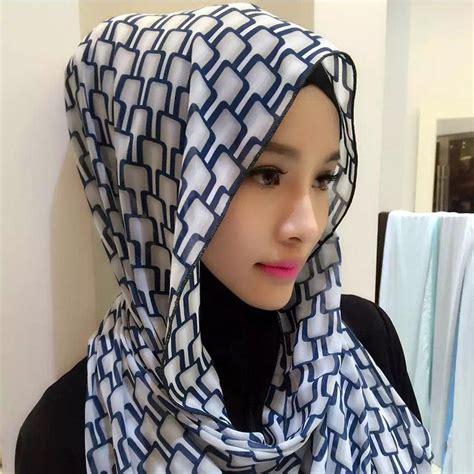 Design Tudung Indonesia   2017 adult quantity promotion fashion muslim acetate