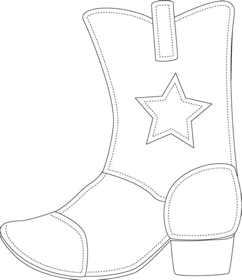 Boot Template by 25 Best Cowboy Boot Crafts Ideas On Cowboy