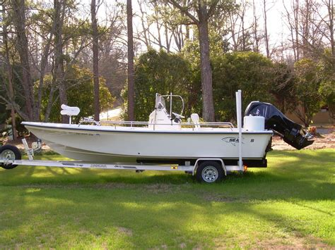 sea pro bay boat 2006 sea boss sea pro 21 bay boat center console 150