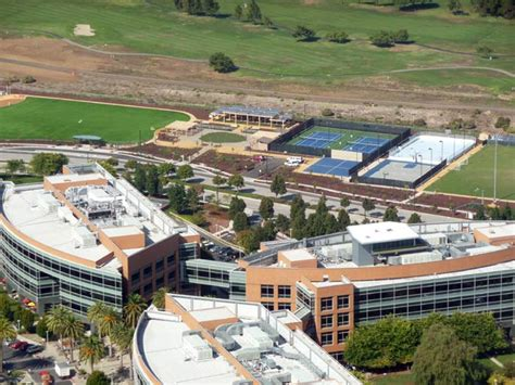 google office california google head office with inline hockey court for employees