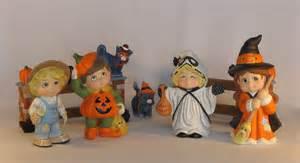 halloween figurine dona s sweet tots halloween ceramic figurines featuring