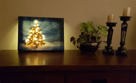 canvas with led lights led light up canvas tree eziprint