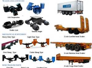 Truck Parts And Trailer Accessories Axle Suspension Trailer Suppliers And Axle Suspension