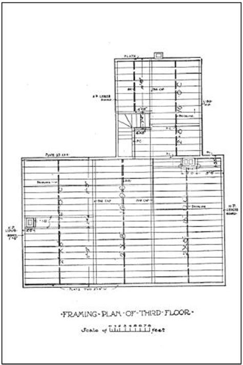 floor framing plan vintage house plans 101 exles downloadable vintage