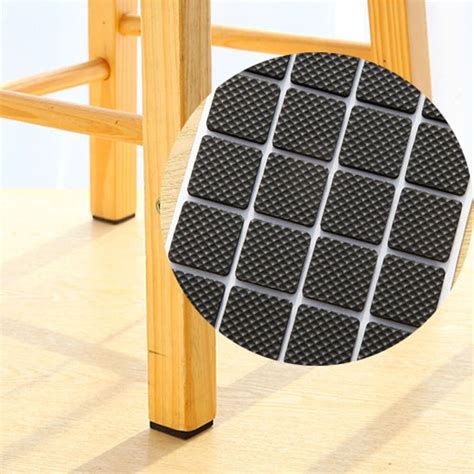 chair floor protector pads non slip black adhesive floor protectors pads furniture