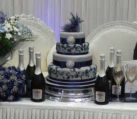 and silver wedding cake by price silver and blue wedding cake