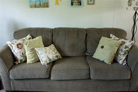 sofa pillows ideas home ideas couch pillow update a slo life