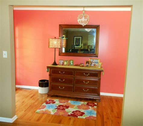 sherwin williams coral reef no white walls