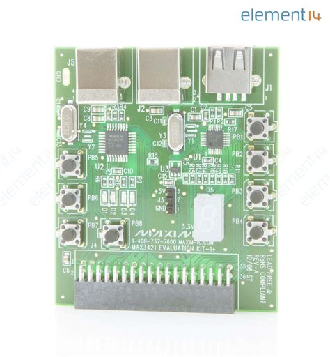 maxim integrated products netherlands max3421evkit 1 maxim integrated products evaluation kit max3421e usb peripheral controller