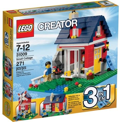 New Furla 802 3in1 lego creator sets 31009 small cottage new