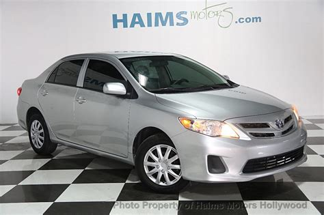 used toyota corolla 2013 2013 used toyota corolla at haims motors serving fort