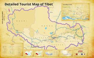 Map Of Tibet Road Map Road Map Of Tibet