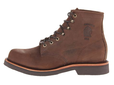Handcrafted Work Boots - chippewa american handcrafted gq apache lacer boot at