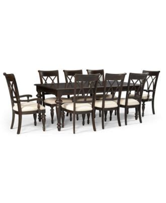 bradford dining room furniture collection bradford 9 piece dining room furniture set