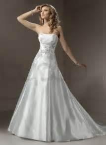 wedding dresses for organza a line wedding dress with strapless neckline ipunya