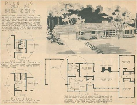 elegant 1950s ranch house floor plans new home plans design elegant 1950s ranch house plans new home plans design