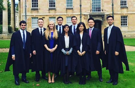 Matriculating Mba by Wearing Gowns Cambridge Mba Stories