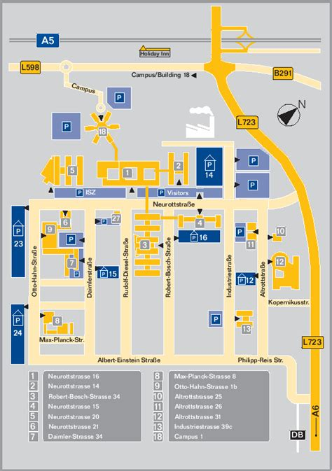 Building Site Plan information for attendees