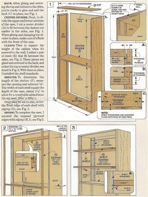storage cabinet plans free cottage style storage cabinet woodsmith plans pdf how to