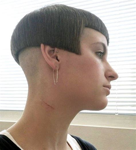 womens hair shaved just above ears 58 best images about bowlcut on pinterest shorts