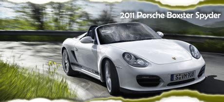 accident recorder 2011 porsche boxster security system 2011 porsche boxster spyder road test review by martha hindes road travel magazine