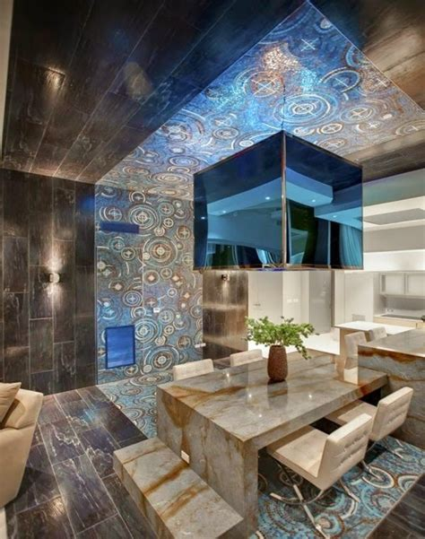 Futuristic Bathroom by 30 Gorgeous Gypsum False Ceiling Designs To Consider For Your Home Decor