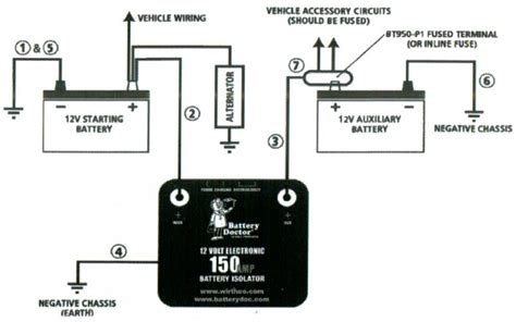 second battery wiring diagram get free image about