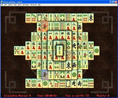 mahjong games screenshot review downloads of shareware ultimate mahjong