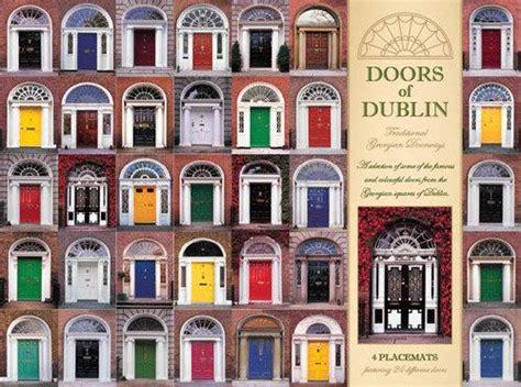 doors of dublin placemats calendars