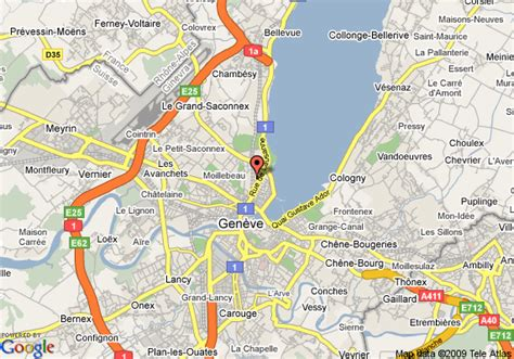 map  quality hotel geneva city centre geneva
