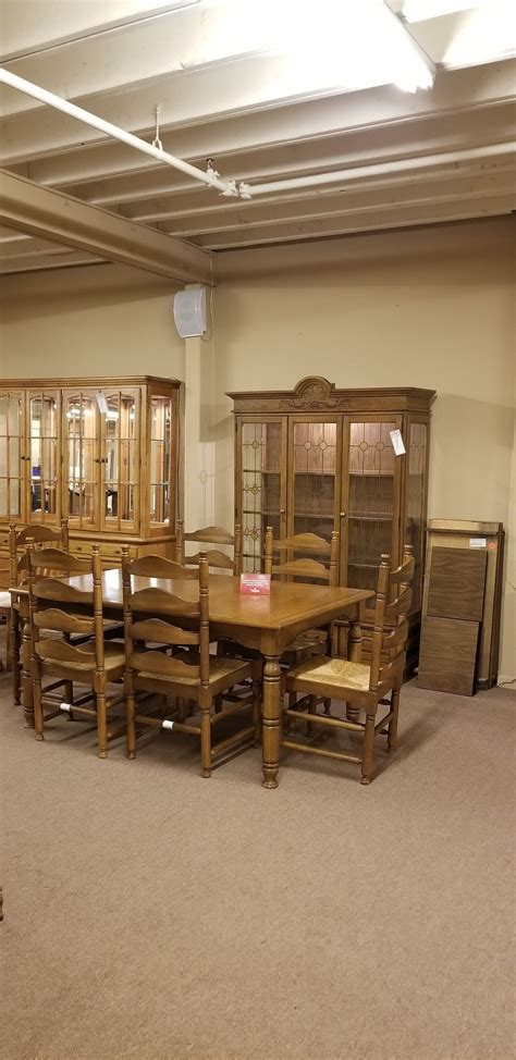 pennsylvania house dining set delmarva furniture consignment dining table w 6 chairs china delmarva furniture