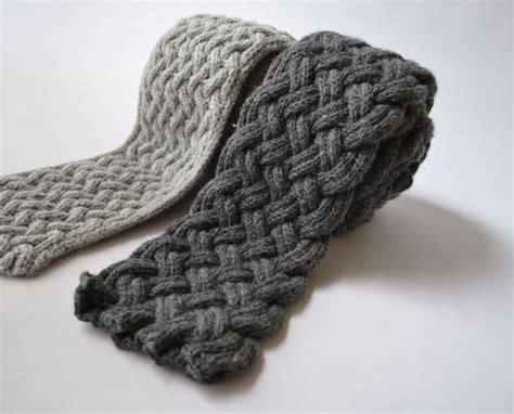 scarf pattern etsy items similar to causey flagstone two scarf knitting