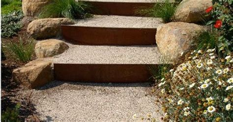 outdoor metal treppen corten steel steps treppen stairs escaleras repinned by