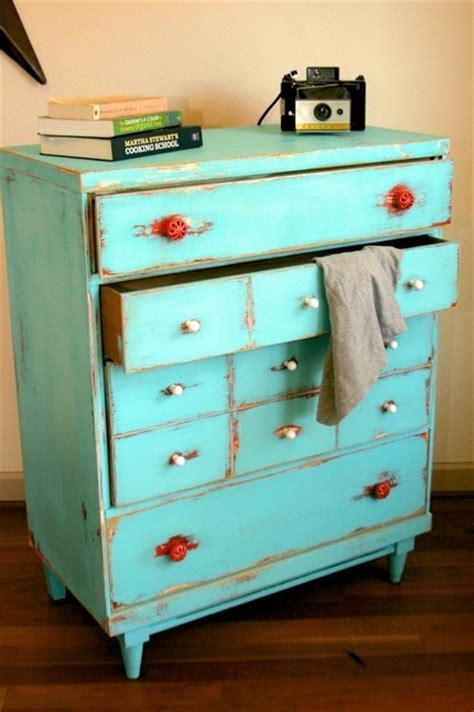 vintage bedroom dresser dishfunctional designs upcycled dressers painted wallpapered decoupaged