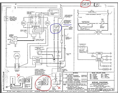 ruud electric furnace wiring schematic wiring diagram