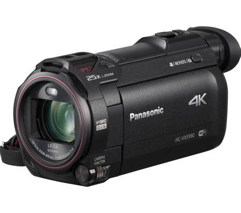 4k digital buy panasonic hc vxf990ebk 4k ultra hd camcorder black