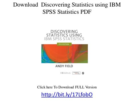 discovering statistics using ibm spss statistics american edition books discovering statistics using ibm spss statistics pdf