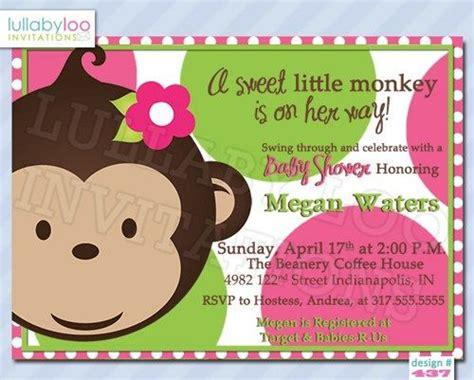 Mod Monkey Baby Shower Invitations by 197 Best Images About Baby Shower Invitations On