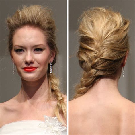 puffed up ponytail easy hairstyles with stylish braids hairstyle for women