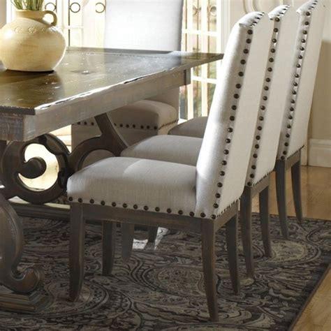nailhead dining room chairs nailhead dining chairs traditional upholstered dining chairs upholstered dining room chairs
