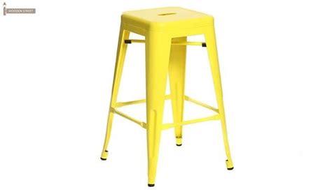 Iron Stool Color by Rhine Iron Stool Yellow