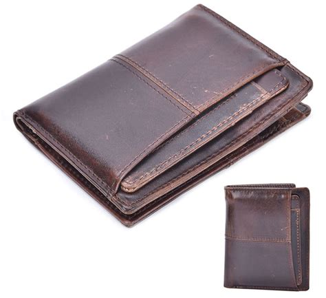 3685 Gelang Kulit Vintage Leather dompet kulit pria wax cowhide leather brown jakartanotebook