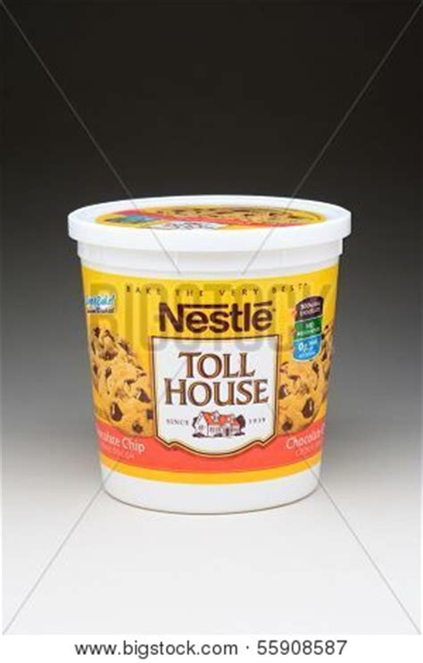 nestle toll house cookie dough tub irvine ca january 11 2013 5 image photo bigstock