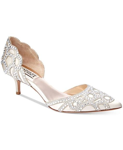 Wedding Shoes Kitten Heel by The 25 Best Kitten Heel Wedding Shoes Ideas On
