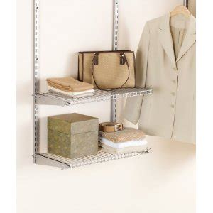 Rubbermaid Closet Wire Shelving by Your Closet Space With Rubbermaid Wire Shelving