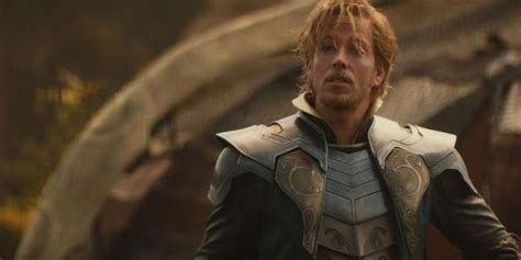 thor movie fandral shazam star zachary levi weighs in on his last line as