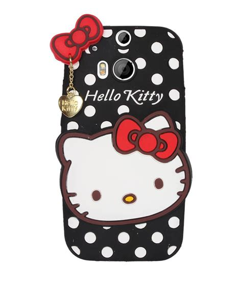 hello kitty wallpaper for htc one fuson hello kitty girly back cover for htc one m8 black