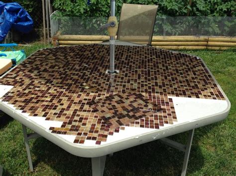 Replacement Tiles For Patio Table 1000 Images About Refurbished Outside Glass Patio Table Into Tile Top Project On