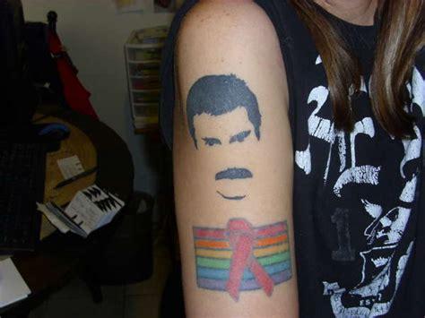 tattoo queen band freddie mercury hot space tattoo